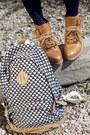 Bronze-modcloth-boots-turquoise-blue-modcloth-dress-navy-modcloth-sweater