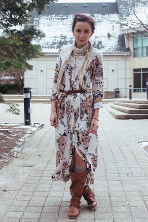 white kimono Arnhem jacket