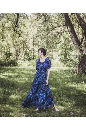 blue maxi dress Spell Designs dress