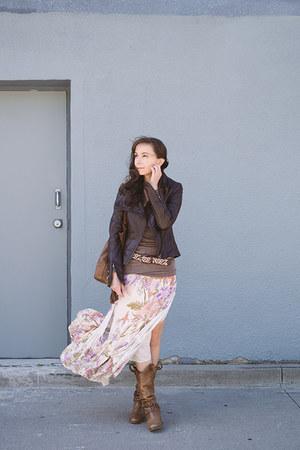 ivory maxi skirt Spell Designs skirt