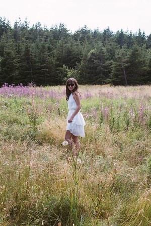 white white halter Ministry of Style dress