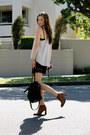 Vintage-boots-alexander-wang-bag-glassons-shorts-karen-walker-sunglasses