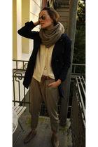 Salon Sahnestck jacket - stills pants - H&M blouse - H&M shoes - Salon Sahnestck