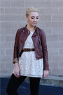 brown f21 jacket