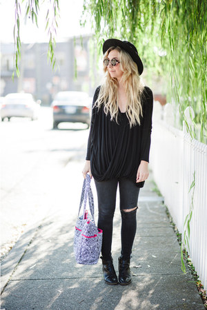 black Urban Outfitters blouse