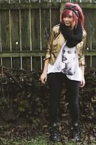 Forever 21 jacket - H&M t-shirt