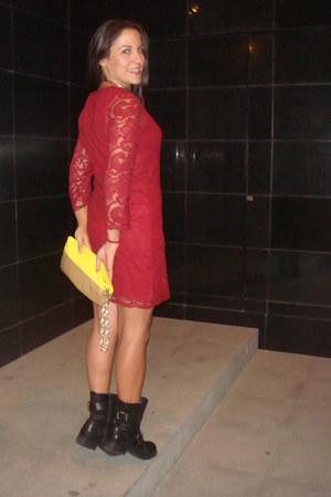 Primark dress - Topshop boots