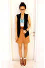 Black-forever21-vest-white-topshop-top-brown-zara-pants-brown-forever21-sh