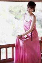 bubble gum vintage dress - white Giuseppe Zanotti wedges