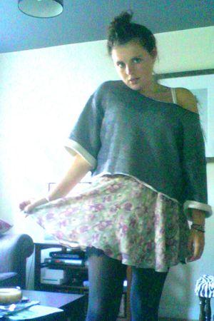 Topshop jumper - Topshop skirt