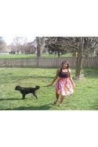 black JCPennys dress