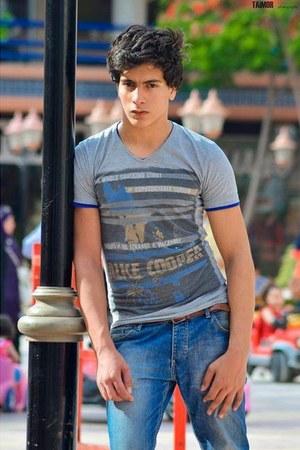 Zara jeans - H & M t-shirt - Zara belt