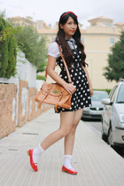 Forever 21 dress - bought in Shanghai shoes - Baobao bag - Momo House socks
