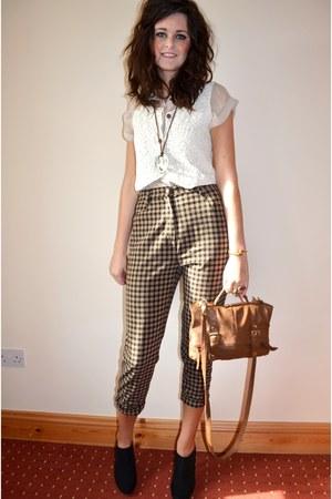 vintage pants - vintage vest