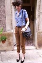 vintage shirt - Primark pants