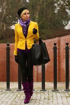 c&a blazer - Zara pants - heels
