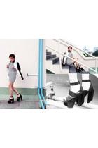 Stylenanda dress - nastygal blazer - Jeffrey Campbell heels