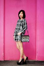 Missguided shorts - Alexander Wang bag - Jennifer Chou heels - Missguided top