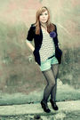 Black-new-yorker-blazer-white-h-m-shirt-blue-terranova-jeans-black-tights-