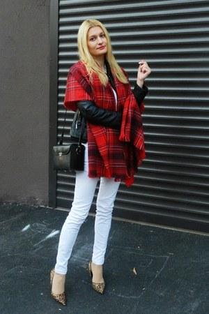 tartan H&M scarf
