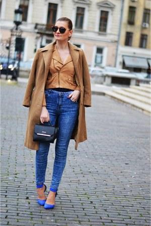 Vero Moda jacket - new look heels