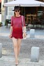 Ray-ban-sunglasses-zara-skirt