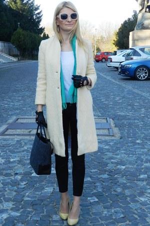 Debenhams bag - Kotton sunglasses - glitter New Yorker heels