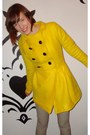 Yellow-monicarose-coat-navy-monicarose-jeans