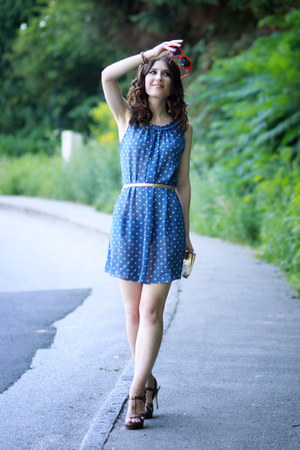 polka dots jiglys dress