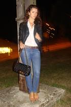 Vila - Zara - Chanel - Zara - vintage