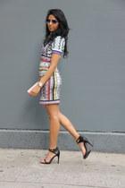 Charlotte Russe ring - Clover Canyon dress - Fendi bag