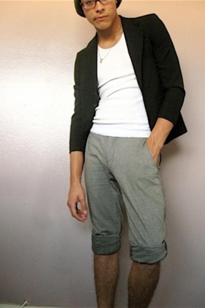 Van Heusen blazer - Hanes shirt - H & M pants