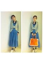 Primark shoes - heather dress - Banana Taipei bag - Miss Selfridge socks - All S