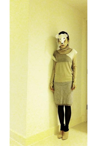 Amelie street dress - no brand bodysuit - b  ab heels