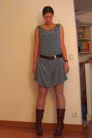 Bel Air dress - Anthropologie belt - Aldo shoes