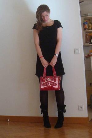 dress - Kenzo purse