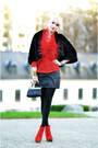 Red-123-jacket-black-version-sud-coat-black-h-m-bag-black-h-m-skirt