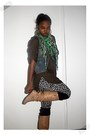 Army-green-zara-top-heather-gray-forever-21-leggings-dark-brown-american-app