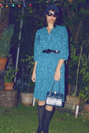 vintage-pleates vintage dress
