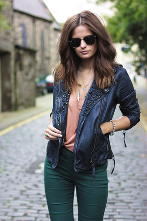 H&amp;M jeans - All Saints jacket
