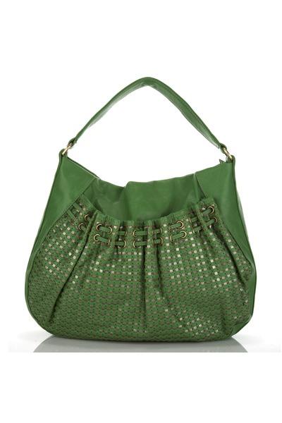 green melie bianco purse