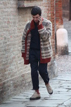 Loro Piana blazer - Superga shoes - Missoni coat - Hugo Boss pants