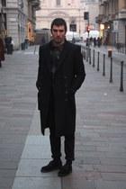dior jacket - Vintage leather gilet accessories - H&M pants