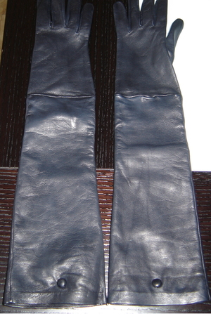 blue Costume National gloves