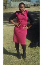 shift dress Edgars dress - trench PQ Outlet coat - suede Mr Price wedges