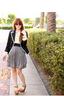 Blue-forever-21-blazer-yellow-vintage-blouse-blue-h-m-skirt-brown-jeffrey-