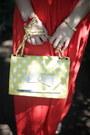 Red-jokers-glasses-yellow-polka-dot-oasap-bag