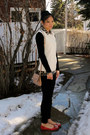 Forever-21-sweater-cisono-leggings-guess-bag-forever-21-top