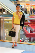 Vincci bag - Gap jeans - Ebay blazer - Forever 21 shirt - Vincci flats