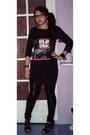 Black-h-m-t-shirt-h-m-skirt-la-redoute-leggings-new-look-uk-shoes